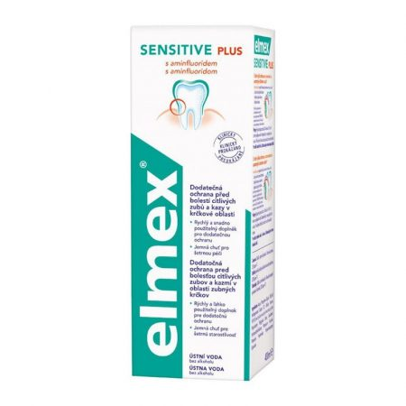 Elmex Sensitive Plus szájvíz 400 ml