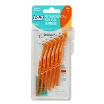 TePe interdental brush angle fogköztisztító kefe 6 db/csomag - 1-narancs (0,45 mm)