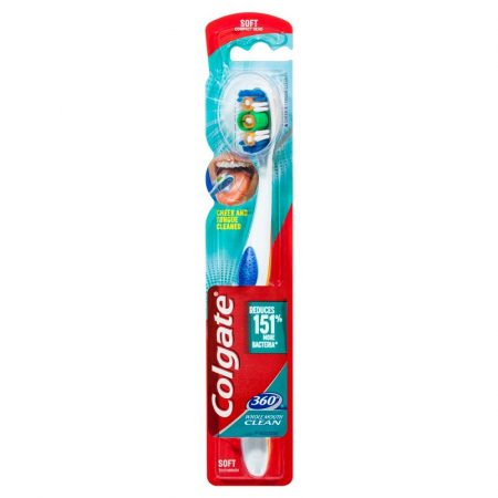 Colgate 360 Whole Mouth Clean fogkefe - soft