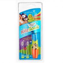 Brush-Baby KidzSonic világító szónikus elemes fogkefe 3-6 éves korig