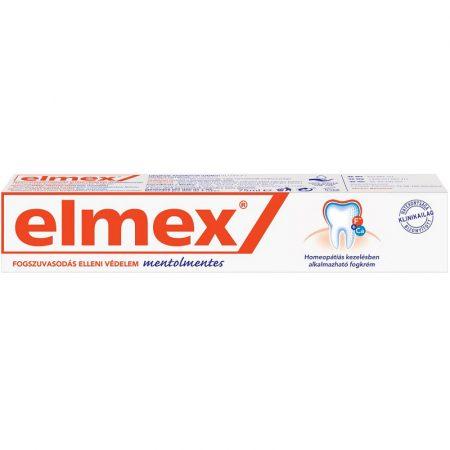 Elmex mentolmentes fogkrém aminfluoriddal 75 ml
