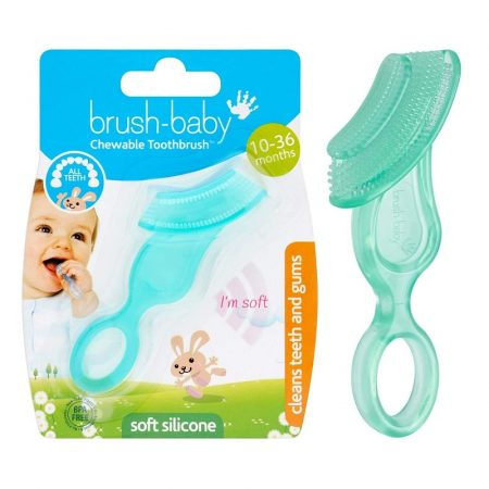 """Brush-Baby rágóka """"fogkefe"""" 10-36 hónapos korig"""