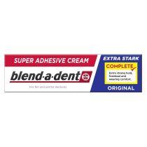 Blend-a-dent Complete Original Extra Erős műfogsorrögzítő krém 47 g