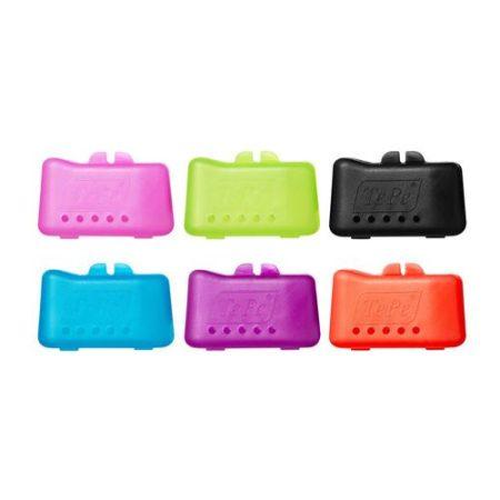 Fogkefe védő kupak különböző színekben