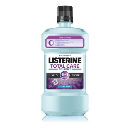 Listerine Total Care Sensitive szájvíz 500ml