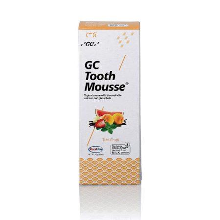 GC Tooth Mousse fogzománcvédő krém 40 g  - tutti frutti