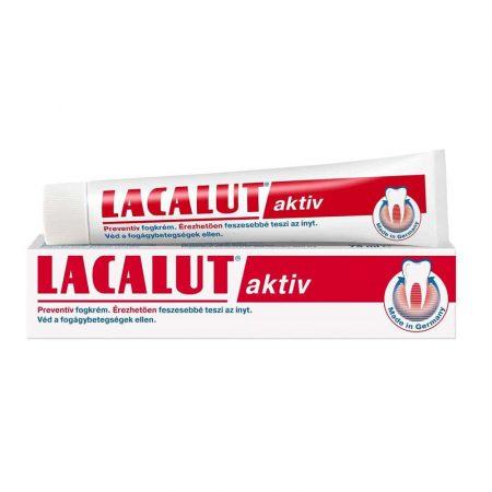 Lacalut aktiv preventív fogkrém 75 ml