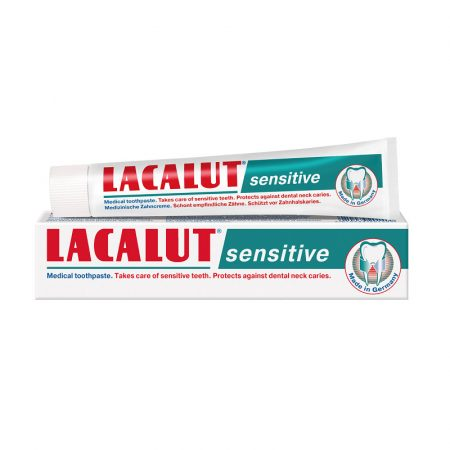 Lacalut Sensitive fogkrém 75 ml
