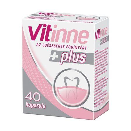Vitinne Plus fogínyerősítő kapszula az egészséges fogínyért  40 db