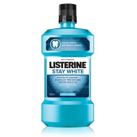 Listerine Stay White szájvíz 500ml