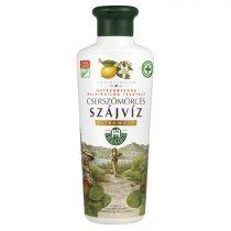 Herbária Cserszömörcés szájvíz citrom ízű 250 ml