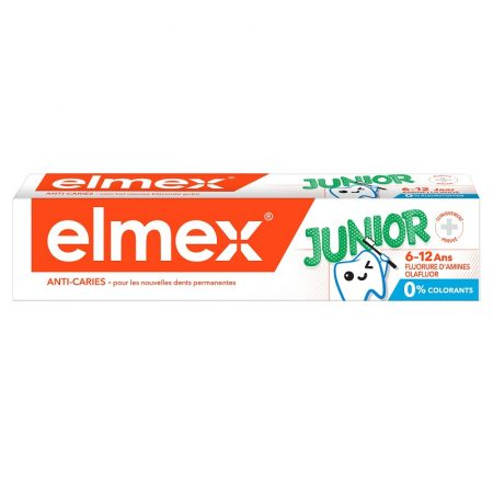 Elmex Junior fogkrém 6-12 éveseknek aminfluoriddal
