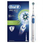 Oral-B PRO 600 CrossAction elektromos fogkefe