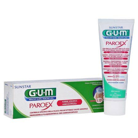 GUM Paroex 0,12 %-os klórhexidin-diglukonát tartalmú foggél 75 ml