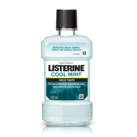 Listerine (ZERO) COOL MINT Milder Taste szájvíz 250ml
