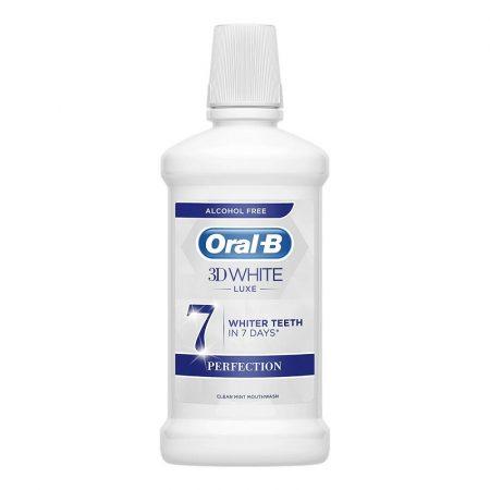 Oral-B 3D White Luxe szájvíz 500ml