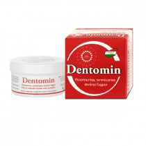 Dentomin fogpor 95g - Natúr - piros
