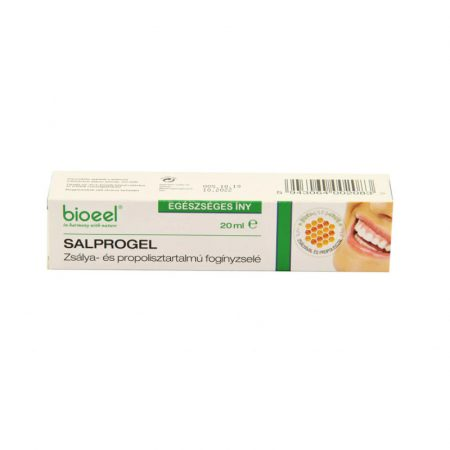 Bioeel Salprogel  Zsálya-és propolisztartalmú fogínyzselé 20 ml