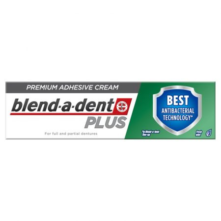 Blend-a-dent Plus Prémium Dual Protection műfogsorrögzítő krém 40 g
