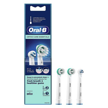 Oral-B Ortho Care Essentials pótfej 3db