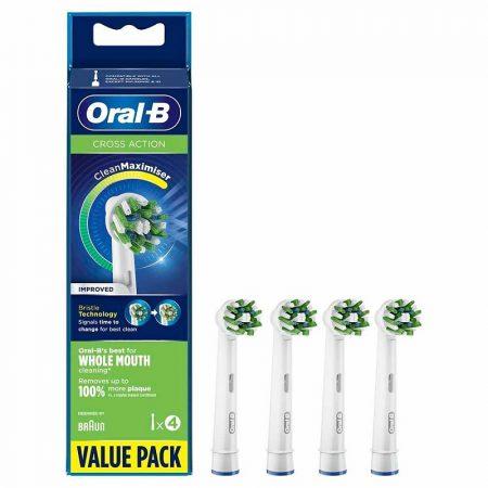 Oral-B EB50-4 CrossAction pótfej 4db