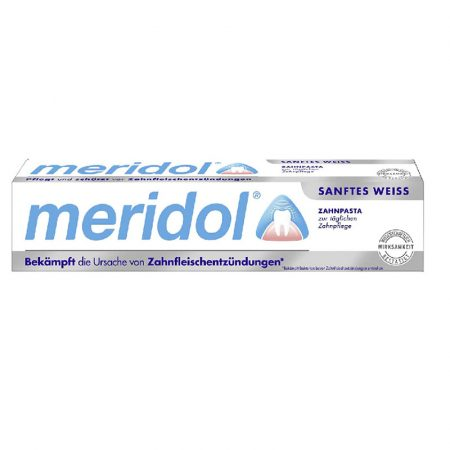 Meridol Gentle White fogkrém 75ml