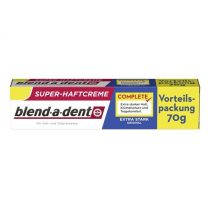 Blend-a-dent Complete Original  Extra Erős műfogsorrögzítő krém 70 g