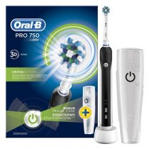 Oral-B PRO 750 Black CrossAction elektromos fogkefe