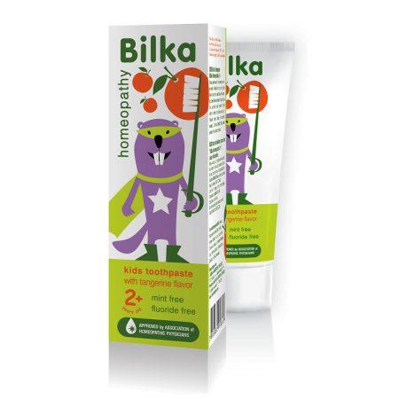 Bilka Homeopathy Organic Mandarinos 2+ gyermek fogkrém 50ml
