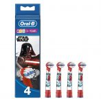 Oral-B EB10-4 Stages Power gyermek fogkefe pótfej Star Wars 4db