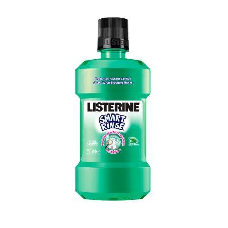 Listerine Smart Rinse gyermek szájvíz 250ml  - Mild Mint