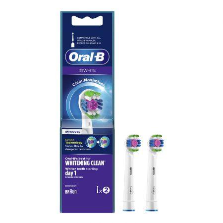 Oral-B EB18-2 3D White pótfej 2db