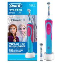 Oral-B gyermek elektromos fogkefe Frozen-Jégvarázs