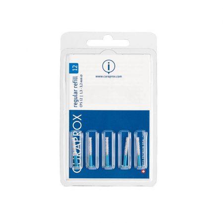 Curaprox Regular refill – pótfej csomag 5db - CPS 12-kék (1,2 mm)
