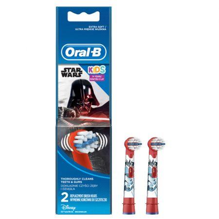 Oral-B EB10-2 Stages Power gyermek fogkefe pótfej Star Wars 2db