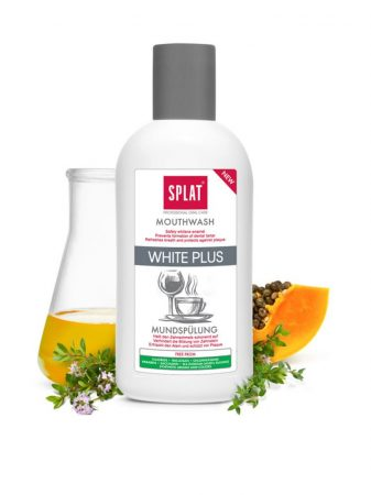 Splat WHITE PLUS Professional szájvíz, 275 ml