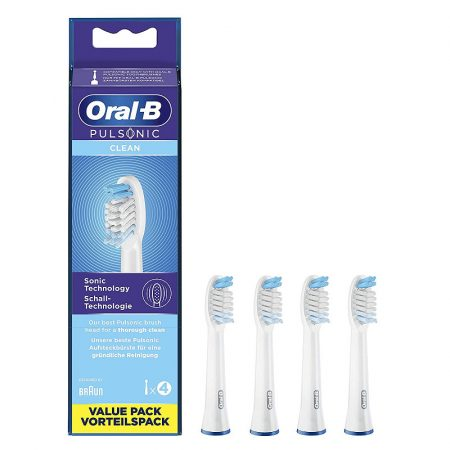 Oral-B Pulsonic Clean pótfej 4db