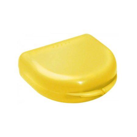 Ortho Box fogszabályozó- és síntartó doboz - sárga