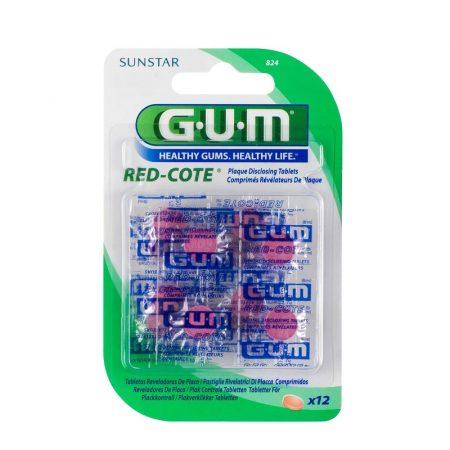 GUM Red-Cote plakkfestő tabletta 12db