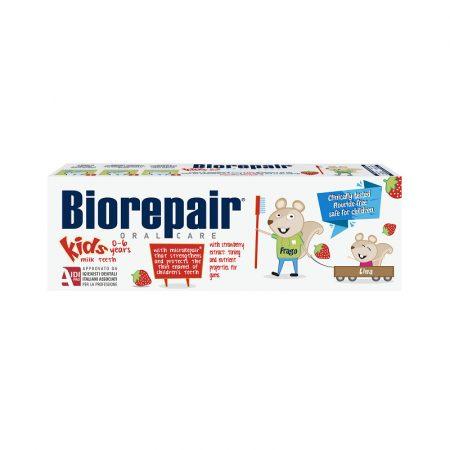 Biorepair Kids fogkrém 0-6 éveseknek 50ml - eper