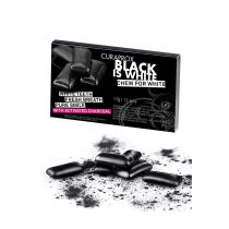 Curaprox Black is White rágó 12db