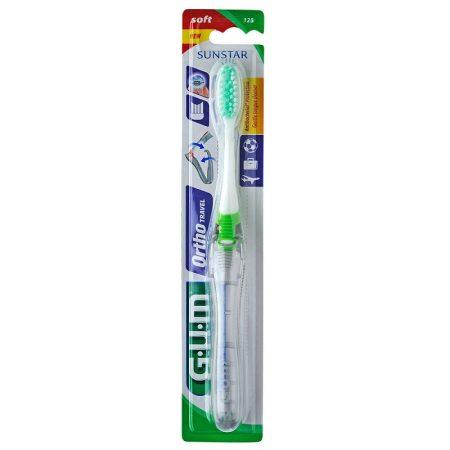 GUM Ortho utazó fogkefe