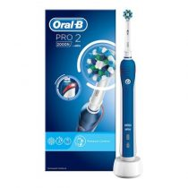 Oral-B PRO 2 2000 Blue CrossAction elektromos fogkefe