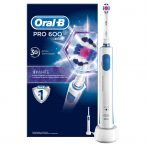 Oral-B PRO 600 3D White elektromos fogkefe
