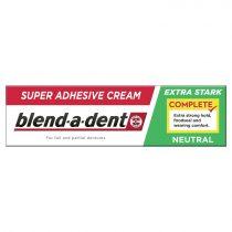 Blend-a-dent Complete Neutral extra erős műfogsorrögzítő krém 47gr