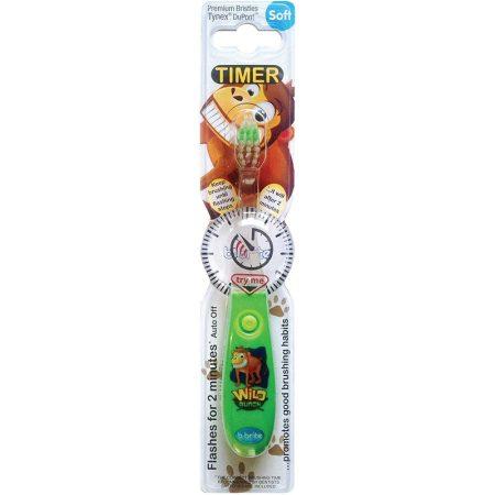 B-brite villogó  időzitős gyermek fogkefe  - majom