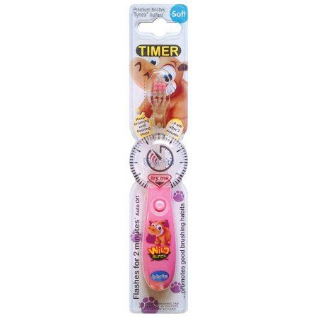 B-brite villogó  időzitős gyermek fogkefe  - víziló