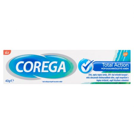 Corega Total Action műfogsorrögzítő krém 40gr