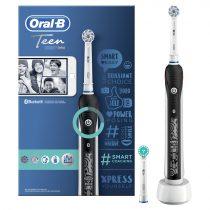 Oral-B Smart 4 Teen Black elektromos fogkefe
