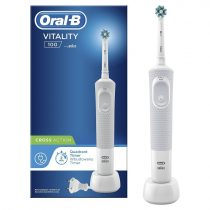 Oral-B Vitality D100 White CrossAction elektromos fogkefe